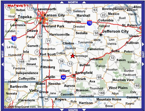 About Us - Springfield mo map